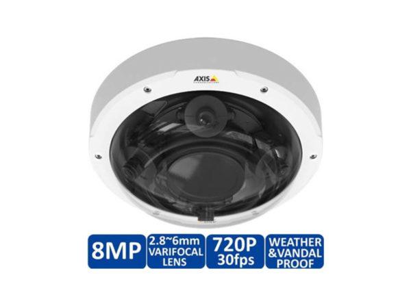 AXIS-P3707-PE-8MP-360-Degree-Multi-sensor-Dome-IP-Security-Camera-